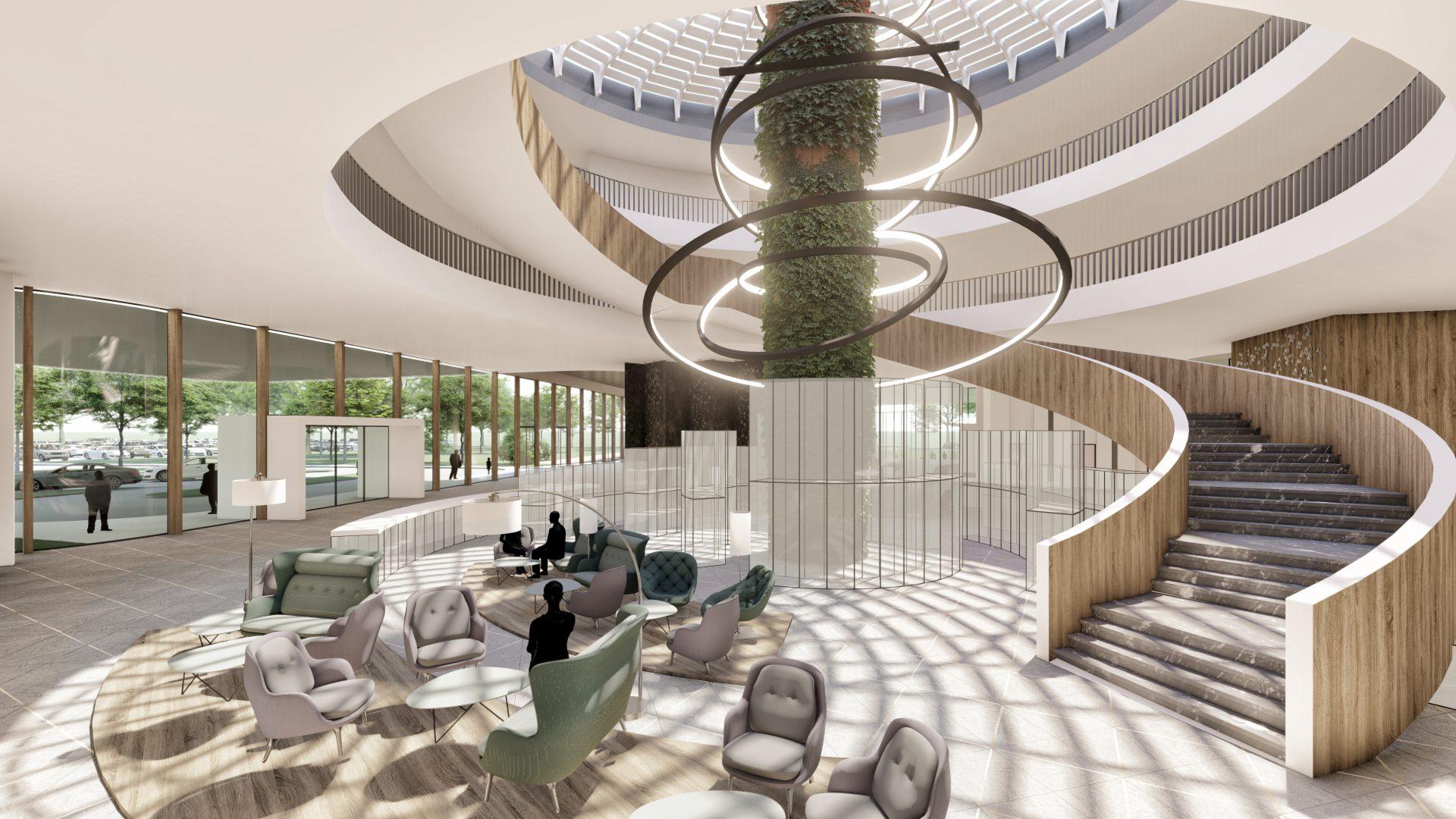 Viereck Architekten Geladener Wettbewerb Hotelprojekt Burgenland